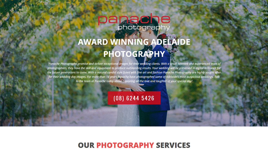 Adelaide web design and development