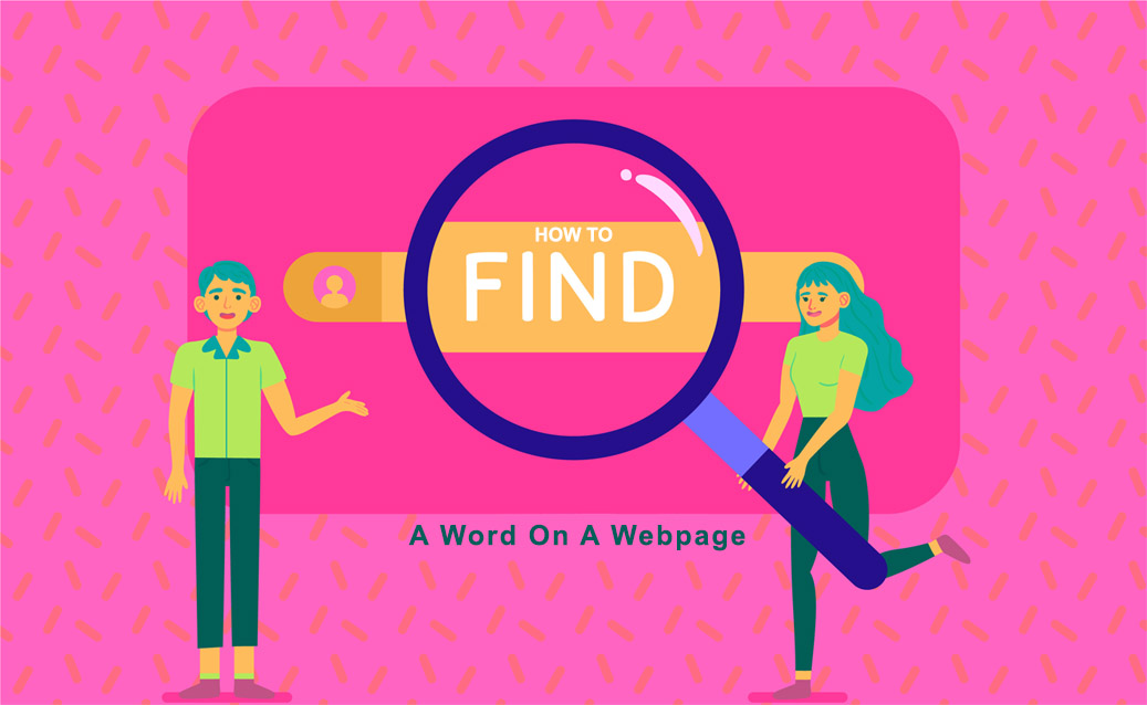 How To Search For A Word On A Web Page